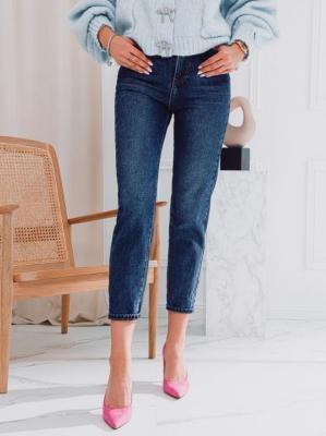 Spodnie damskie jeansowe 020PLR - granatowe - 26