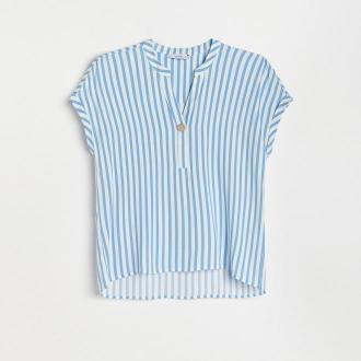 Reserved - Bluzka z wiskozy - Wielobarwny