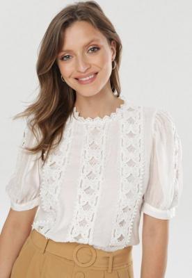 Biała Bluzka Guinelee
