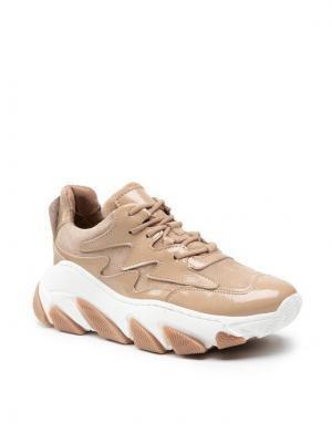 Carinii Sneakersy B5822 Brązowy