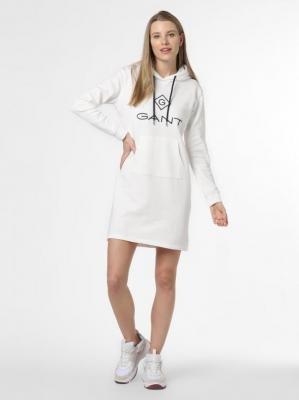 Gant - Damska sukienka dresowa, beżowy