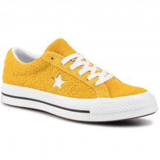 Tenisówki CONVERSE - One Star Ox 165033C Gold Dart/White/Black