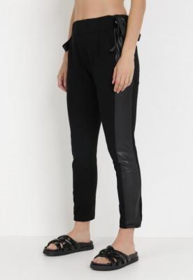 Czarne Spodnie Zeuxyxio