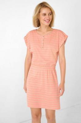 Dżersejowa sukienka w paski