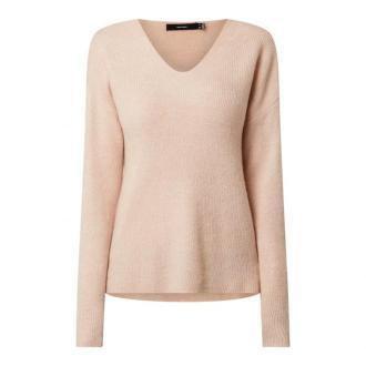 Sweter z obniżonymi ramionami model 'Crewlefile'
