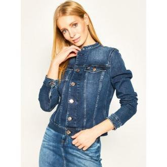 Tommy Jeans Kurtka jeansowa Trucker Dyadk DW0DW08282 Granatowy Slim Fit