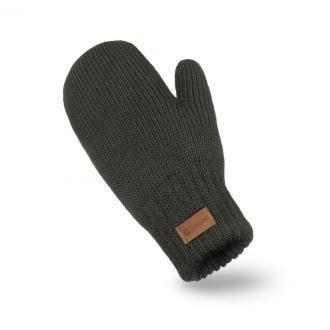Rękawiczki damskie z jednym palcem w kolorze khaki