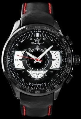 Zegarek meski GINO ROSSI - 1565A (zg157c)