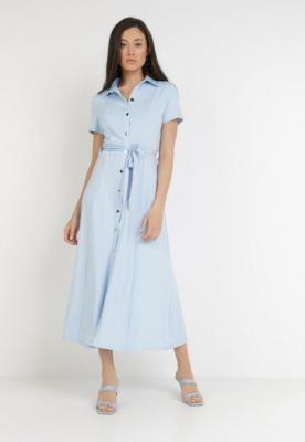 Jasnoniebieska Sukienka Ophieithe