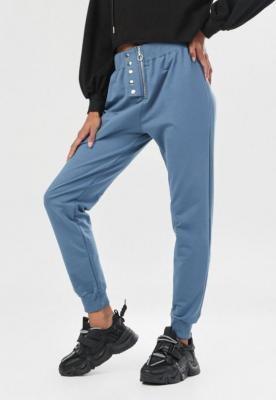Niebieskie Spodnie Dresowe Ynisienne