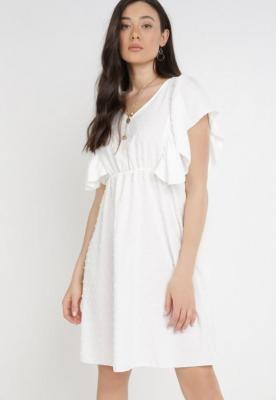 Biała Sukienka Ylanox