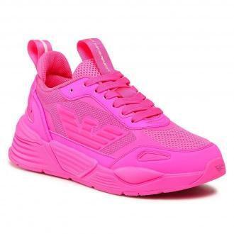 Sneakersy EA7 EMPORIO ARMANI - X8X070 XK165 N344 Full Pink Fluo