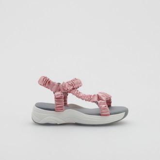 Reserved - Sportowe sandały - Różowy