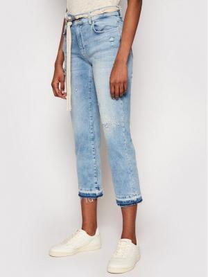 Desigual Jeansy Pondio 21SWDD46 Niebieski Slim Fit