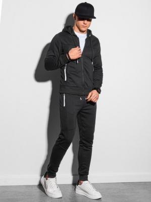Komplet męski bluza + spodnie Z25 - czarny - XXL