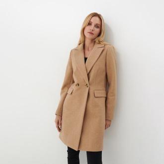 Mohito - Klasyczny płaszcz Eco Aware - Beżowy