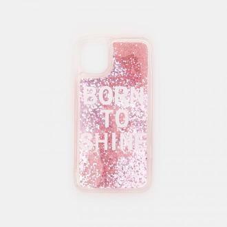 Sinsay - Etui iPhone 11 - Różowy