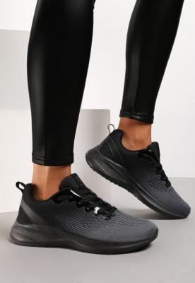 Czarne Buty Sportowe Zabkiel