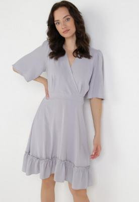 Szara Sukienka Coraexie