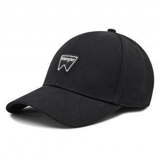 Czapka z daszkiem WRANGLER - Logo Cap W0U5U5XW5 Real Black