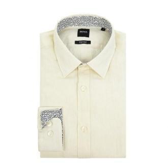 Koszula lniana o kroju regular fit model 'Lukas'