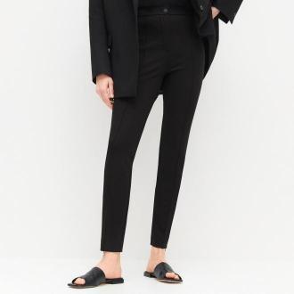 Reserved - PREMIUM Spodnie z EcoVero™ - Czarny