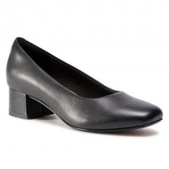 Półbuty CLARKS - Marilyn Leah 261534144  Black Leather