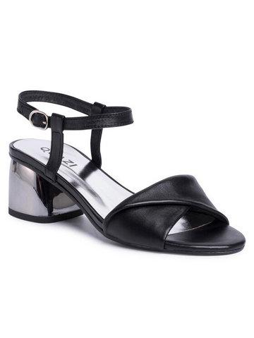 Sandały QZ-69-04-000699 Czarny