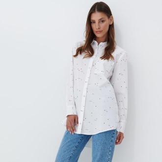Mohito - Koszula oversize - Biały