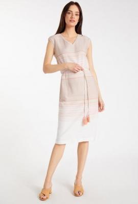 Bawełniana sukienka z wzorem