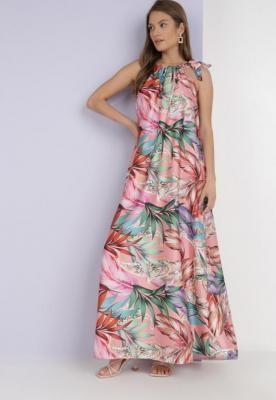 Koralowa Sukienka Piphonos