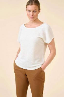 Koszulka z wiązaniem na plecach
