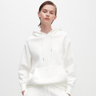 Reserved - Bluza z kapturem - Biały