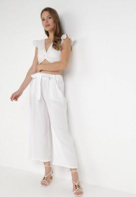 Białe Spodnie Synertes