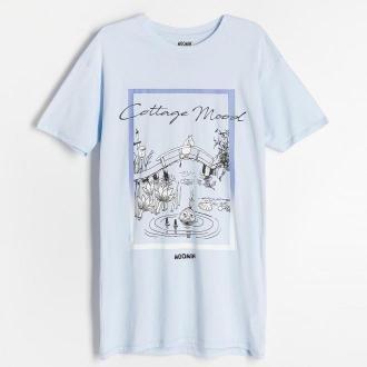 Reserved - Koszula nocna Muminki - Niebieski