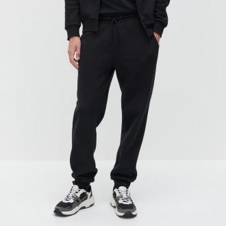 Reserved - Spodnie dresowe - Czarny
