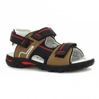 Sandały Bartek T-39305/naf, Dla Chłopców, Brązowy