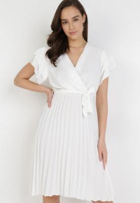 Biała Sukienka Theleithe