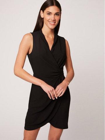 Morgan Sukienka koktajlowa 212-RENALA.F Czarny Slim Fit
