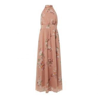Długa spódnica z szyfonu z kwiatowym wzorem model 'Lovely'