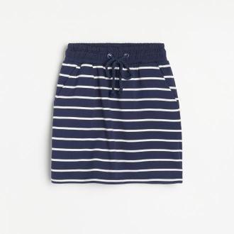 Reserved - Dresowa spódnica - Wielobarwny
