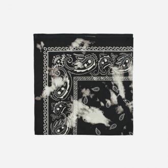 House - Wzorzysta chusta bandana - Czarny
