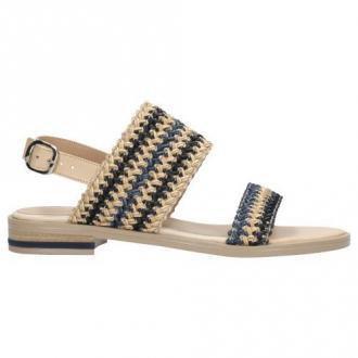 Wojas Kolorowe Sandały Z Plecionymi Paskami