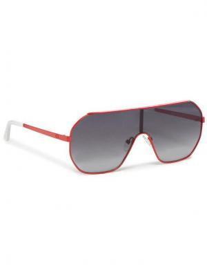 Guess Okulary przeciwsłoneczne GU7676 0066B Czerwony