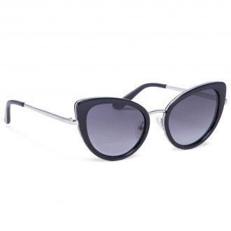 Okulary przeciwsłoneczne GUESS - GU7603 5201B Shiny Black/Gradient