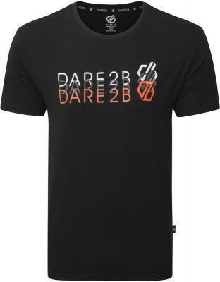 Dare 2b Focalize Koszulka Mężczyźni, czarny S 2021 Odzież do jogi
