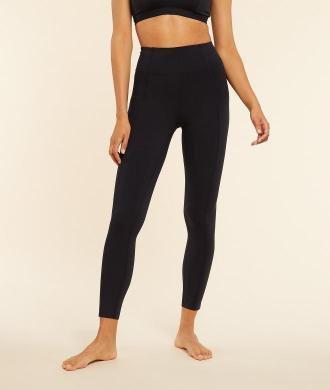 Edith Legging De Yoga Long - Czarny - Etam