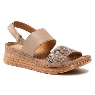 Sandały MACIEJKA - 04142-04/00-5 Beż