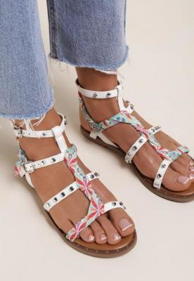 Białe Sandały Pixanthei