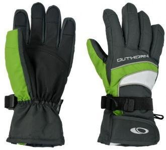Rękawice narciarskie Outhorn COZ-13-REM024 limonkowe